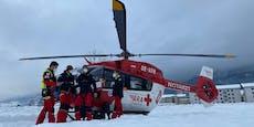 Wienerin (34) bei Rodel-Unfall schwer verletzt