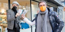 Jetzt gibt's auch bunte FFP2-Masken für graue Tage