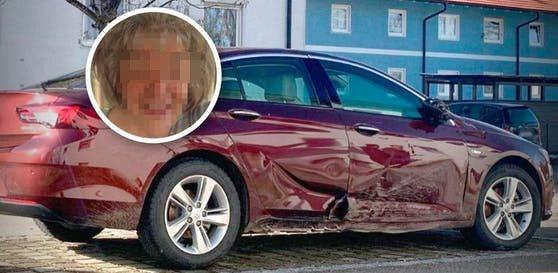 Der beschädigte Pkw der ermordeten Manuela K. war Ende Jänner in Traunstein gefunden worden.