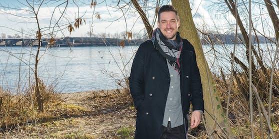 Moderator Andreas Moravec in Klosterneuburg