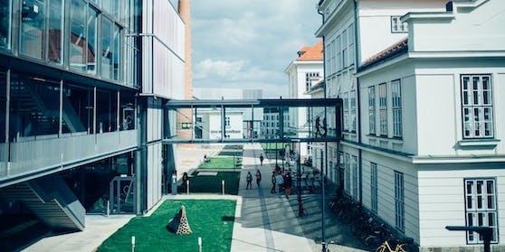 Blick auf den Campus Krems der Donau-Universität