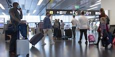 Österreicherin bricht am Wiener Flughafen zusammen