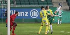 """2:1! Erst """"Ibrahimovic-Tor"""" von Kara erlöst Rapid"""