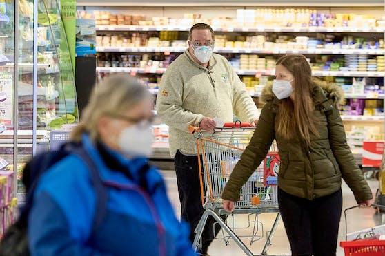 Seit 25. Jänner 2021 gilt FFP-Maskenpflicht in Öffis und Supermärkten