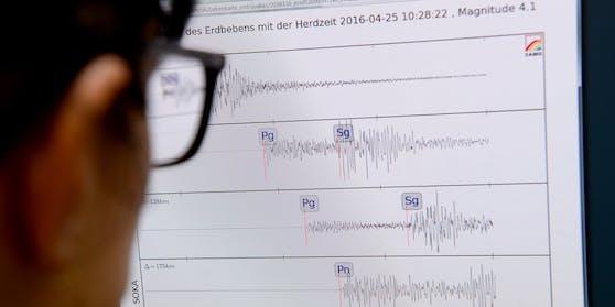 Das Erdbeben in erreichte eine Stärke von 3,7.