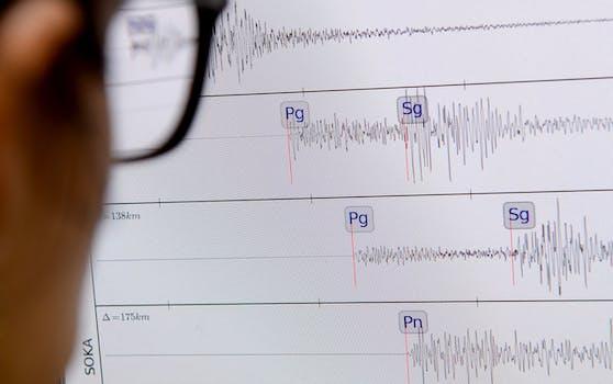 Das Erdbeben in der Steiermark erreichte eine Stärke von 3,4.