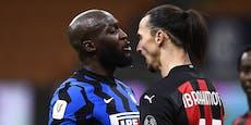 So heftig schimpften Ibrahimovic und Lukaku