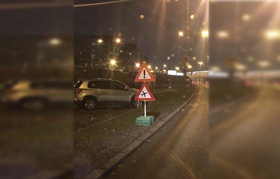 Der Leser entdeckte das Schild in Wien.