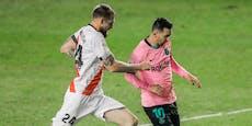 Messi trifft! Barca verhindert Blamage bei Zweitligist