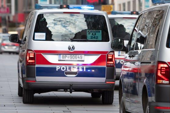 Einsatzwägen der Wiener Polizei. (Symbolbild)