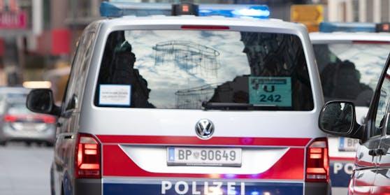 Einsatzwägen der Wiener Polizei.