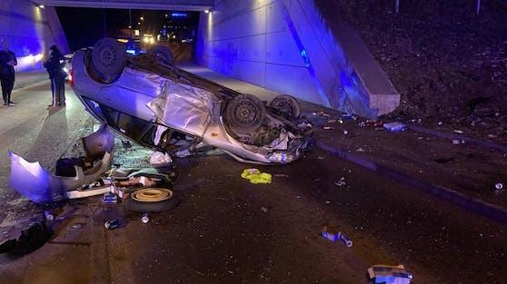 Mittwochabend ereignete sich ein Unfall im Wien-Liesing.