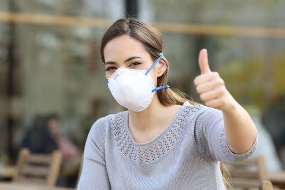 Schutzmasken haben nicht nur gesundheitliche Vorteile.