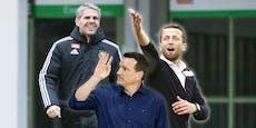 Rapid-Coach Kühbauer: Wer, wenn nicht er?