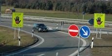 Mutiger Trucker versperrt Autobahn gegen Geisterfahrer