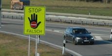 Polizei stoppt Geisterfahrer, der hat kuriose Ausrede