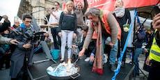 Wir haben Lockdown, aber 17 Demos am Wochenende in Wien