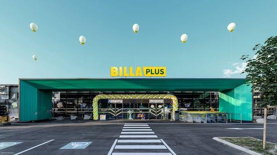 Visualisierung einer BILLA Plus Filiale
