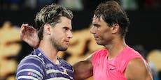 Thiem startet mit Duell gegen Nadal ins Tennis-Jahr