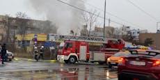 Feuerwehr musste zu Gebäudebrand in Wien ausrücken