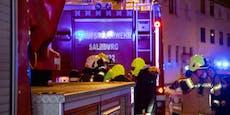 5 Verletzte durch Kellerbrand in Salzburg