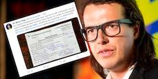 Politiker kassiert Pinkel-Strafebei Abschiebe-Demo
