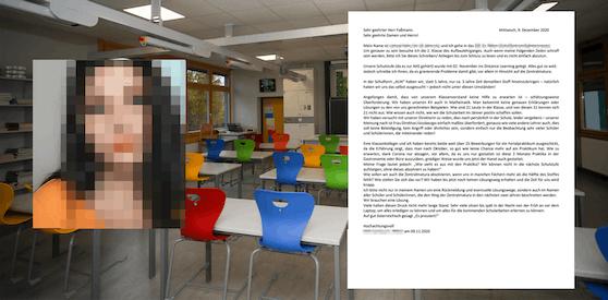 Die Schülerin wandte sich in einem Brief an Bildungsminister Faßmann
