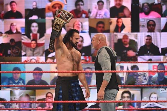 Drew McIntyre vs. Goldberg