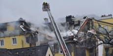 6 Verletzte bei Explosion, 60-Jähriger wird vermisst