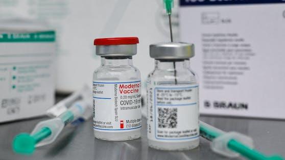 Der Moderna-Impfstoff.