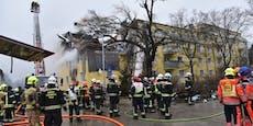 1 Toter nach Explosion in Langenzersdorf geborgen