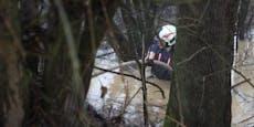 Sintflut-Regen in Österreich lässt die Pegel steigen