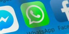 Jeder hat WhatsApp, Facebook nur noch ein Drittel