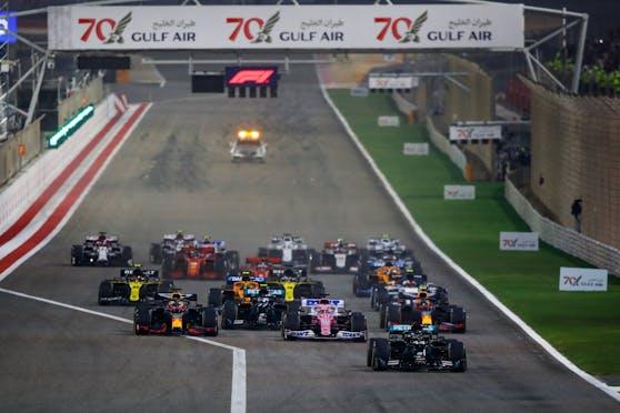 Neue Startzeiten in der Formel 1