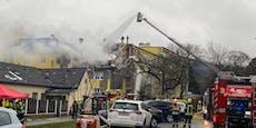Drama in Langenzersdorf war wohl geplante Explosion