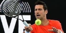 Kurios: Djokovic spielt bei Comeback nur zweiten Satz