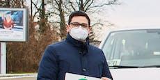Gratis FFP2-Masken für Einkommensschwache in Melk