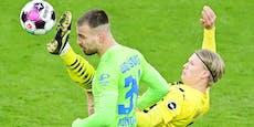 2:0! Haaland wieder fit, Dortmund siegt wieder