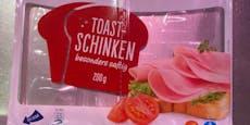 Wiener Supermarkt verkauft leere Schinkenverpackung