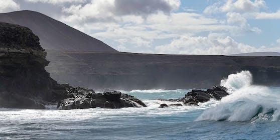 Fuerteventura ist bekannt für große Wellen und starken Wind