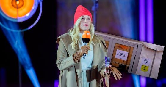 Andrea Kiewel bei der Silvestershow im ZDF