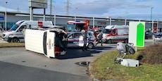 Drei Kinder bei Verkehrsunfall in Wr. Neudorf verletzt