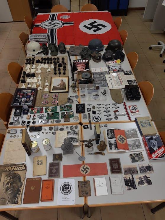 Die Sammlung an NS-Material