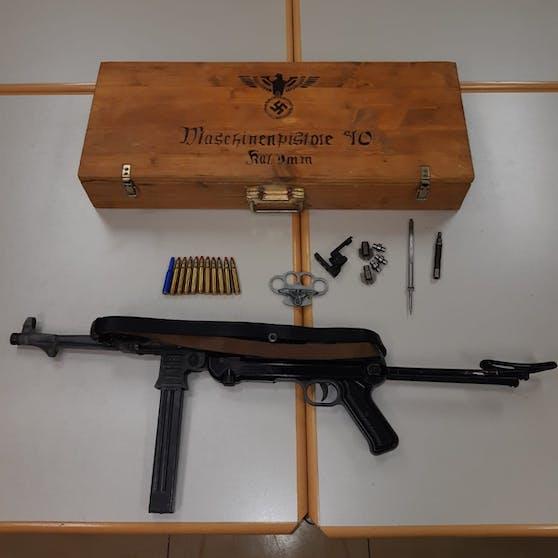 Die Maschinenpistole