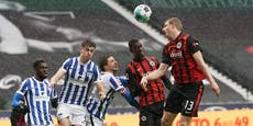 Hinteregger trifft! Frankfurt auf Champions-League-Kurs