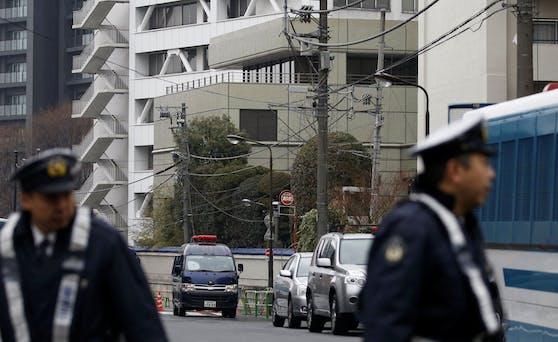 Die Polizei in Tokio. (Symbolbild)