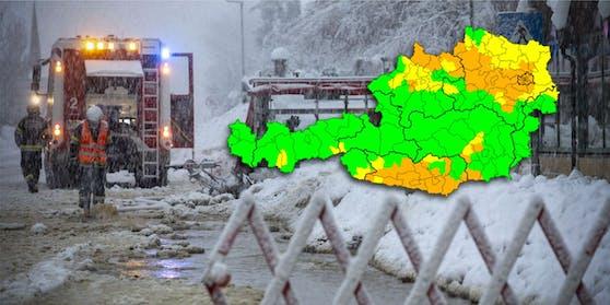 Die Unwetterzentrale hat Wetter-Warnungen für weite Teile des Landes ausgerufen.