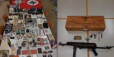 Riesige Nazi-Sammlung und Waffen in Wien entdeckt