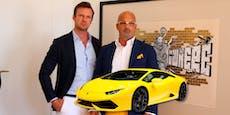 Lamborghini-Schieber frei, weil Justiz zu langsam war