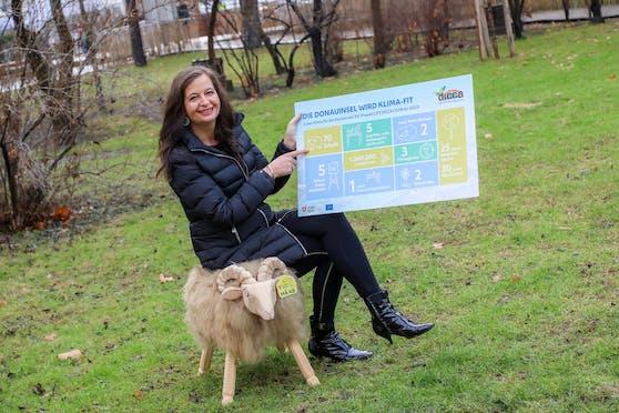 Innovationsstadträtin Ulli Sima (SPÖ) will die Donauinsel klima-fit machen.